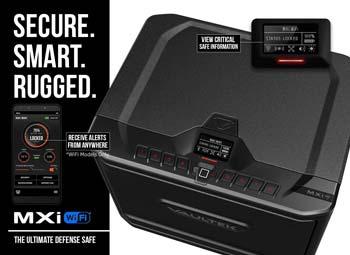 Vaultek MX Series Safe High Capacity Smart Handgun Safe
